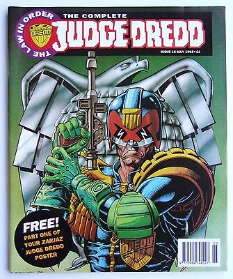 The Complete Judge Dredd #16 (The Judge Child) May 1993 + Part 1 of Poster