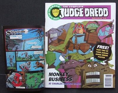 The Complete Judge Dredd #17 (The Judge Child) June 1993 + Part 2 of Poster
