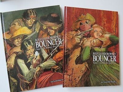 BOUNCER Tome 1+2  Boucq-Jodorowsky  EO !