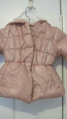 23ba2c482 PINK PLATINUM TODDLER Girls Coat Quilted Winter Jacket with Sherpa ...