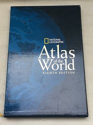 National Geographic Atlas Of The World Eighth / 8th Edition - Hardback
