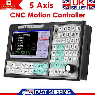 CNC 5 Axis Offline Motion Controller Replace MACH3 500KHz USB Motion Controller.