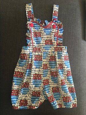 Rock Your Baby/Kid Girls Summer Playsuit / Overalls - Size 4 exc cond near new!