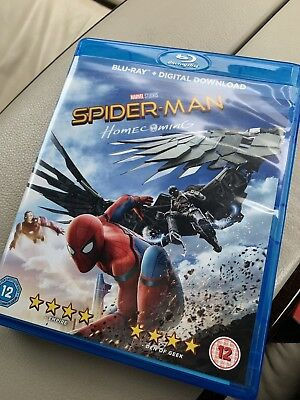 Spider-Man: Homecoming Excellent Condition Blu-ray