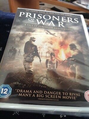 Prisoners Of War (DVD) Brand New & Factory Sealed Freepost Fast Dispatch.