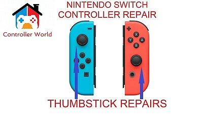 Nintendo Switch Controller Faulty Repair Service Thumbstick