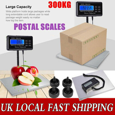 Protable LCD Digital 300KG Postal Platform Scales Weighting accurate commercial