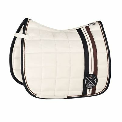 Eskadron AW18 HERITAGE Saddlecloth BIG SQUARE GLOSSY - DL Ivory RRP