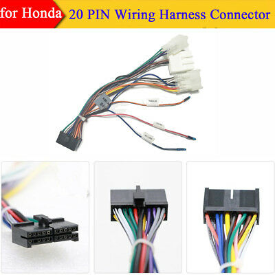 Excellent Car Stereo 20 Pin Wiring Harness Connector Adapter 1Din 2 Din Wiring Database Redaterrageneticorg