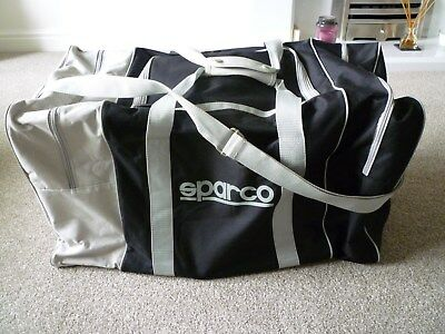 Sparco Race kit bag, Rally Racing Suit Gloves Boots Kit Luggage Holdall