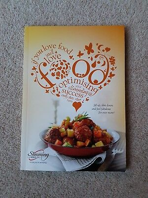 Slimming World Food Optimising Book From 2014. Includes Red/Green Syns