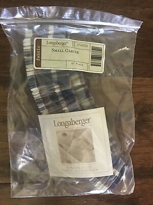 Longaberger Small Garter in Woven Traditions Plaid