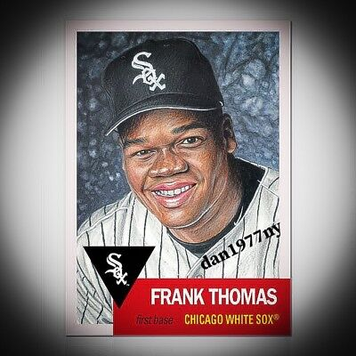 Topps Living Set Card #133 Frank Thomas. Free Shipping &*Price Guaranteed