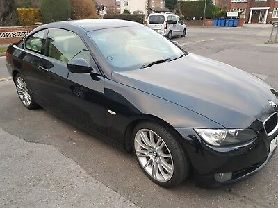 Bmw 320D Coupe Black Auto Service History Low Miles M Sport Hpi Clear