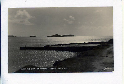 Postcard THE QUAY  St Martin's Isles of Scilly Judges