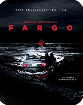 Fargo (Blu-ray Disc, 2017, Shout Factory, 20th Anniversary Edition SteelBook)