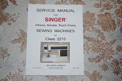 Singer Sewing Machines 2210 Service Manual CD in PDF Format