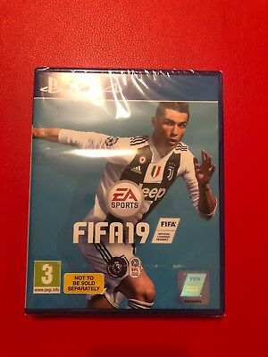 FIFA 19 - Standard Edition (Sony PlayStation 4, 2018) Brand New Unused