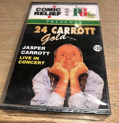 COMIC RELIEF and PG Tips CD JASPER CARROTT Gold