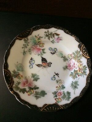 Chinese Or Japanese Vintage Or Antique Saucer Mark On Back Shown In Pictures