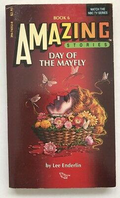 TV tie-in pb AMAZING STORIES #6: DAY OF THE MAYFLY (1st, 1986) TSR Lee Enderlin