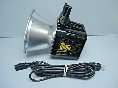 "Paul C Buff 320 WS Alien Bees B800 Pro Photoflash Studio Strobe w/ 7"" Reflector"