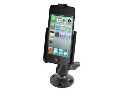 SHORT Flat Surface Drill Down Mount Holder fits Apple iPod touch 4th Generation
