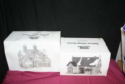 Department 56 Heritage Dickens' Village Ashbury Inn & Butter Tub Barn