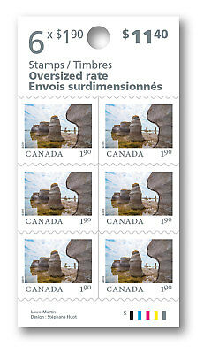 2019-From Far and Wide: Booklet of 6 stamps (Oversized)  ($1.90) -  MNH