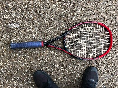 Yonex VCore SV 100 4 3/8 grip strung Poly mains Babolat XCELL crosses Japan made