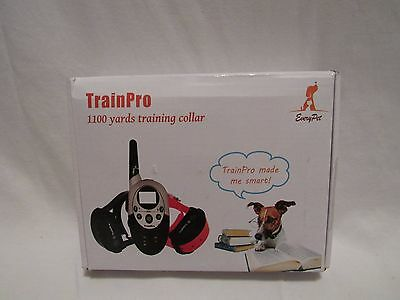 TrainPro Exec Dual 1100 Yard Rechargeable Remote Waterproof Dog Training (7C1)