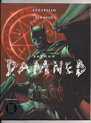 Batman Damned #1 Cover B Uncensored 1St Prints Nm Black Label Dc Comics Htf