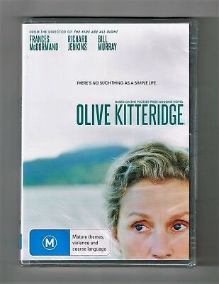 Olive Kitteridge (Mini-Series Drama) Dvd 2-Disc Set Brand New & Sealed