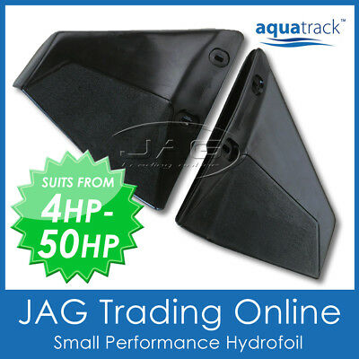 Aquatrack Small Hydrofoil 4-50Hp - Boat Motor Stabiliser For Outboard < 50Hp *