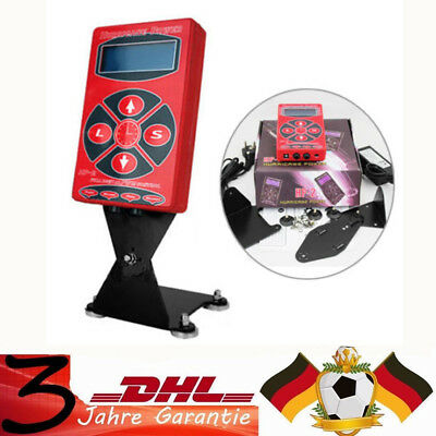 LCD Digital Hurricane Tattoo Machine Alimentatore tatuaggio Power Supply RED NEW