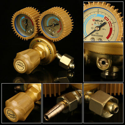 Oxygen Regulator Mig Tig Gas Flow Meter Pressure Reducer Gauge M16x1.5 1.25-2MPa