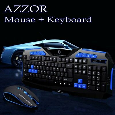 Gaming wireless 2.4G keyboard and Mouse Set to computers Multimedia Gamer For PC