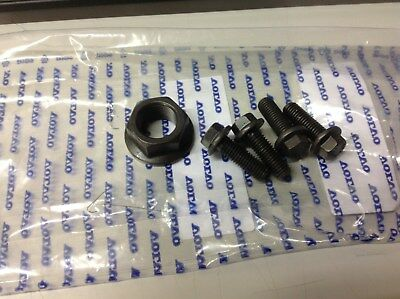 Genuine Volvo D5 Bottom Crank Nut And 4 Bolts