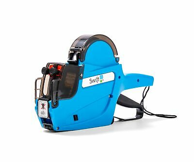 Swift 2 Line Price Gun Kit with 5,000 23 x 16 Labels and Spare Ink Blue