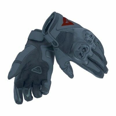 Dainese Mig C2 Leather Gloves Black