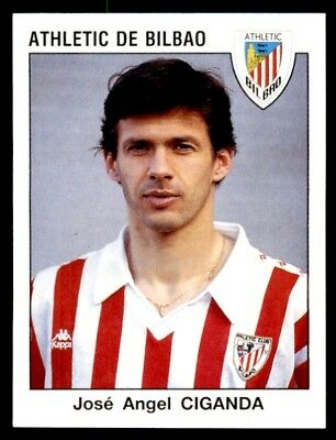 Panini Fútbol 93/94 Estrellas José Angel Ciganda Athletic Club De Bilbao No. 53