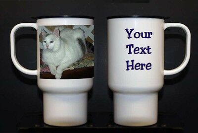 Personalized 15 oz Poly Travel Mug- your photo and/or text (new)