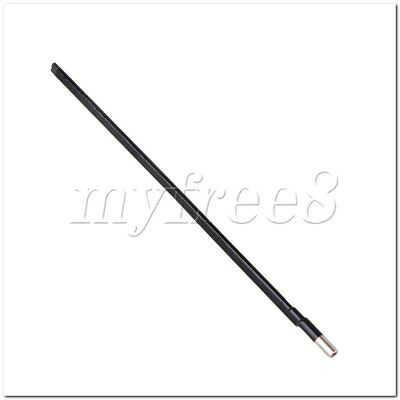 360mm Long Guitar Tool Two Way Steel 9MM Dia Truss Rod for Electric Guitar Bass