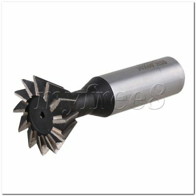 30mm Blade Dia Degree HSS Straight Shank 16mm Dia Cutter 12 Flutes End Mill
