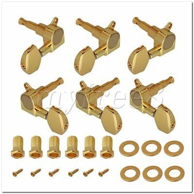 6Pieces Gold Guitar Tuning Keys Machine Head Tuners for Acoustic Electric Guitar