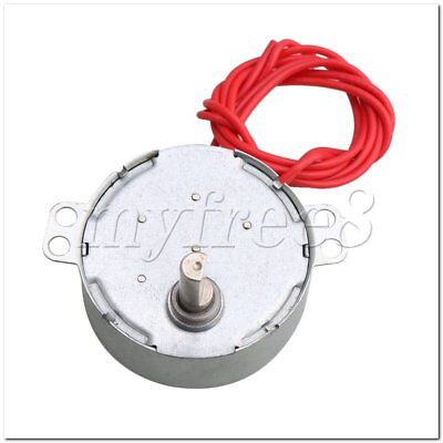 5mm Shaft Dia AC 12V 5-6 RPM Synchron Motor for Fan DIY Work Torque 4KGF.CM