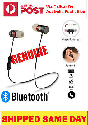 For Apple iPhone Samsung Wireless Bluetooth Sport Headphones Earphones Headset