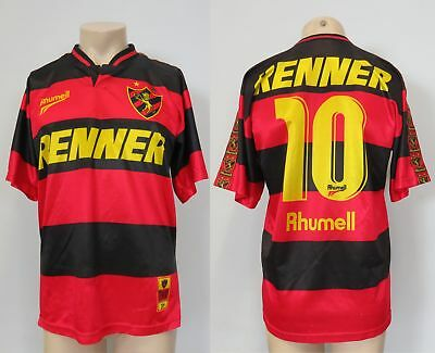 Vintage Recife home shirt 1990ies Rhumell soccer jersey #10 size M