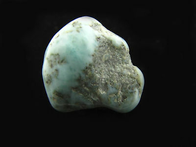 Larimar Natural Stone Tumble Polished 18g Healing Crystal