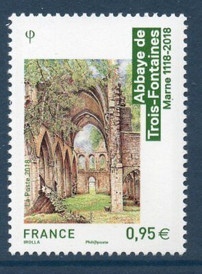 Timbre 5242 Neuf Xx Ttb - Abbaye De Trois Fontaines - Marne